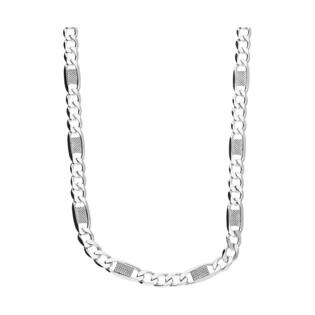 Łańcuszek srebrny figaro BC 1310-120 D 3+1 DIS próba 925