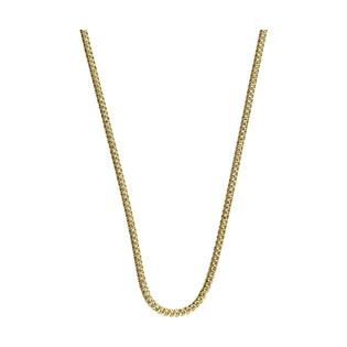 Łańcuszek srebrny pozłacany typu snake BC 1486-240 G-B Snake próba 925