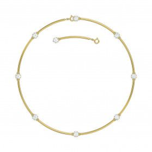 Naszyjnik CONSTELLA:CHOKER WHITE/GOS S1 5600488