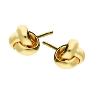 Kolczyki złote obwarzanki blask/sztyft A4 288-OR536-FR próba 585