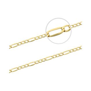 Łańcuszek złoty figaro VK GAXPDE 1+3 040 próba 585