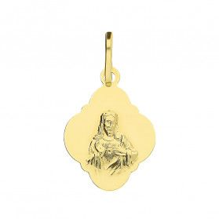 Medalik złoty Szkaplerz SDJ M-0838-1 próba 585