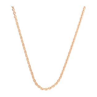 Łańcuszek srebrny pozłacany typu anker AT 040 ROSE próba 925