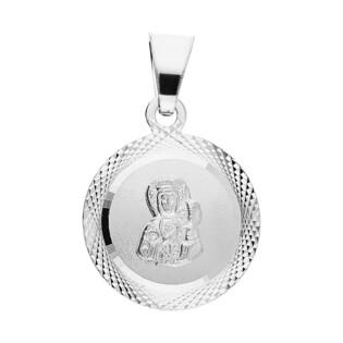 Medalik srebrny Częstochowska w kole MV GMD121 próba 925