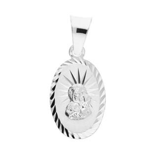 Medalik srebrny Matka Boska Częstochowska MV MD139 próba 925