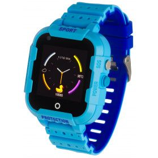 Zegarek Garett Kids Star 4G RT niebieski PP 5903246286793