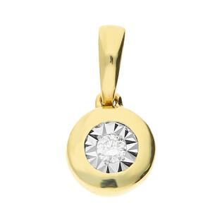 Zawieszka złota MAGIC z diamentem LC KE465205-KP975701Y próba 585