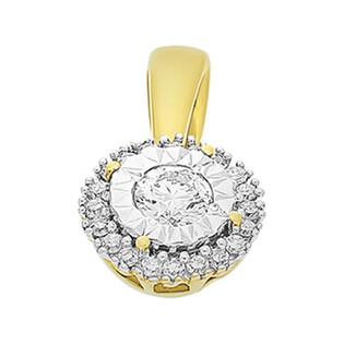 Zawieszka złota z diamentami SWEET nr KU 102215-102863 próba 585