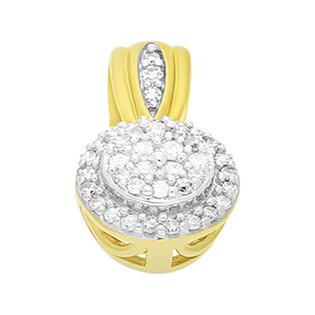 Zawieszka złota z diamentami nr KU 102219-102865 próba 585