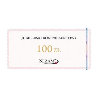 Jubilerski Bon Podarunkowy o nominale 100zł RU 100