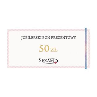 Jubilerski Bon Podarunkowy o nominale 50zł RU 50