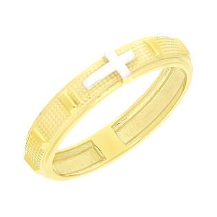Pierścionek złoty różaniec NB 501838 próba 375