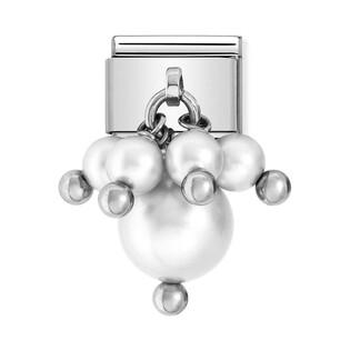 Element link 18K charms perła NP 030609 01