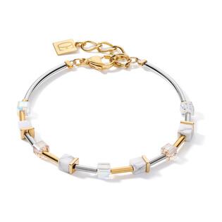 Bransoleta Coeur de lion 1816 Crystal-Gold CT 5023-30-1816