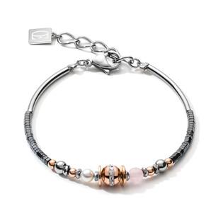 Bransoleta Coeur de lion 1226 Grey-Pink Gol CT 5049-30-1226