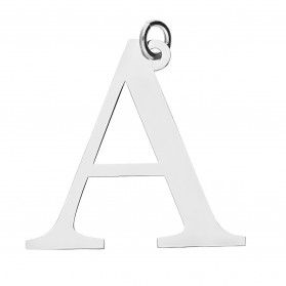 Literka srebrna A do zawieszenia A6 07972287-01 próba 925
