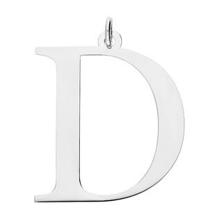 Literka srebrna D do zawieszenia A6 07972287-04 próba 925