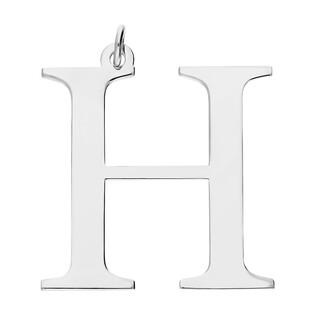 Literka srebrna H do zawieszenia A6 07972287-08 próba 925