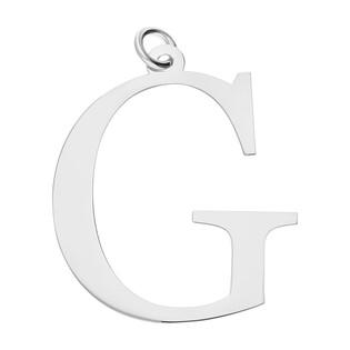 Literka srebrna G do zawieszenia A6 07972287-07 próba 925