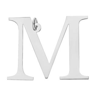 Literka srebrna M do zawieszenia A6 07972287-14 próba 925