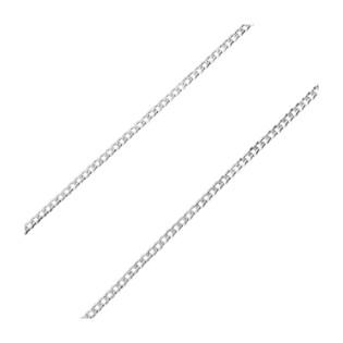 Łańcuszek srebrny pancer BC 1102-080 PAVE ROD próba 925