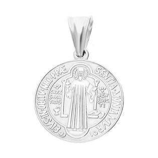 Medalik srebrny Benedyktyński TB2702 próba 925