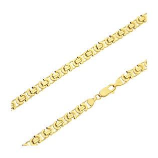 Łańcuszek pozłacany o splocie bizantyna BC 1810-130 GOLD próba 925