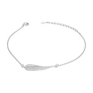 Bransoleta srebrna skrzydło tłoczone/anker HS748-1 próba 925