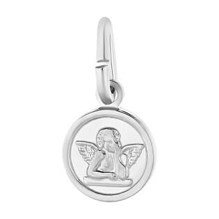 Medalik srebrny anioł w kółku NI CI1334 m próba 925