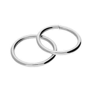 Kolczyki srebrne kółka szarniry 10mm NI KSZ-10mm-1,2 próba 925