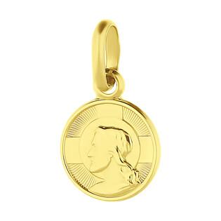 Medalik złoty Benedyktyński BC073 próba 585