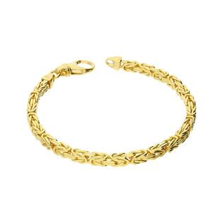 Bransoleta złota bizantyna BC 1380-070 próba 585