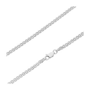 Łańcuszek srebrny o splocie nonna BC 1781-050 ROD próba 925