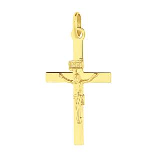 Krzyżyk złoty z wizerunkiem Pana Jezusa BC C-852 próba 585