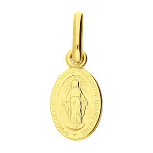 Medalik złoty Niepokalana w owalu BC M-0928 próba 585