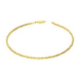 Bransoleta złota o splocie królewskim BC 1380-050 próba 585
