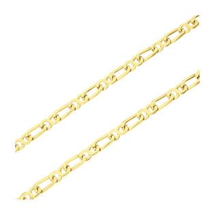 Łańcuszek złoty fantazja 160 próba 585
