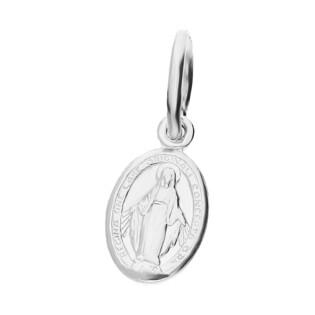 Medalik srebrny z wizerunkiem Matki Boskiej Niepokalanej NI CI1329 ROD próba 925