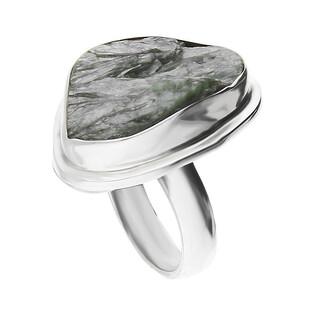 Pierścionek srebrny serafinit Syberia GX MINERALS GX-seraf-1 próba 925