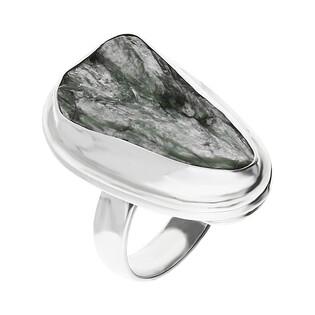 Pierścionek srebrny serafinit Syberia GX MINERALS GX-seraf-2 próba 925