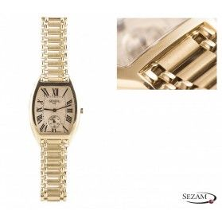 Zegarek męski na bransolecie nr MI Geneve 113 próba 585