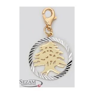 Charms w kształcie drzewka nr AR 506417 ze złota próby 333