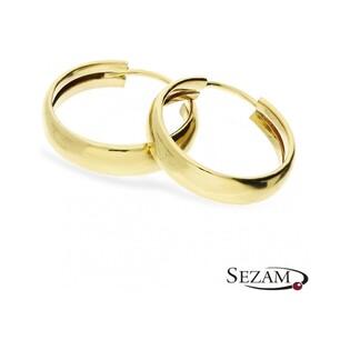 Kolczyki złote koła nr AR HOE6710 próba 585