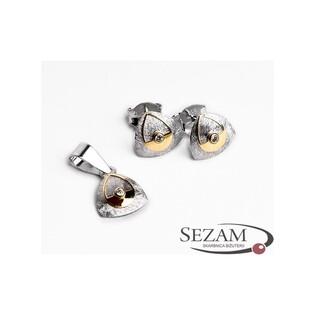 Komplet biżuterii srebrnej nr HK 900334
