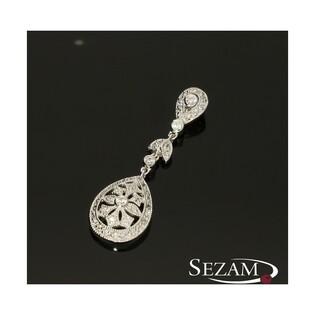 Zawieszka srebrna z cyrkoniami nr CP PZC 24115