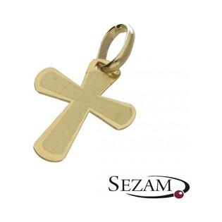 Krzyżyk złoty nr FL FL126 próba 585