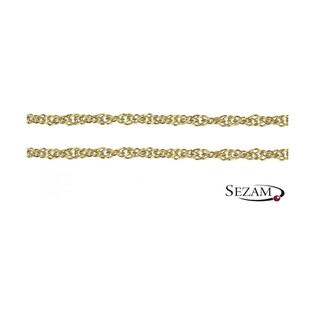 Łańcuszek złoty typu singapur nr VISING 045/dm próba 585