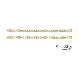 Łańcuszek złoty typu blaszka nr FPDBC 050 próba 585