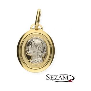 Medalik złoty z wizerunkiem Jezusa nr OP68 próba 333