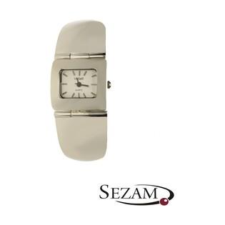 Zegarek srebrny damski prostokątny nr KO 03-15 próba 925